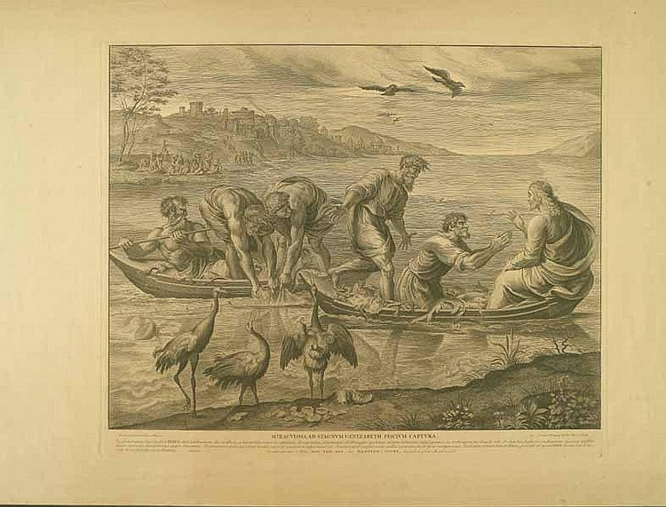 Dorigny, Nicolas: (1657 Paris 1746). 4 Bl. aus der