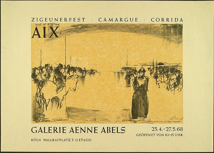 Lichtner-Aix, Werner: (1939-1987). Zigeunerfest -
