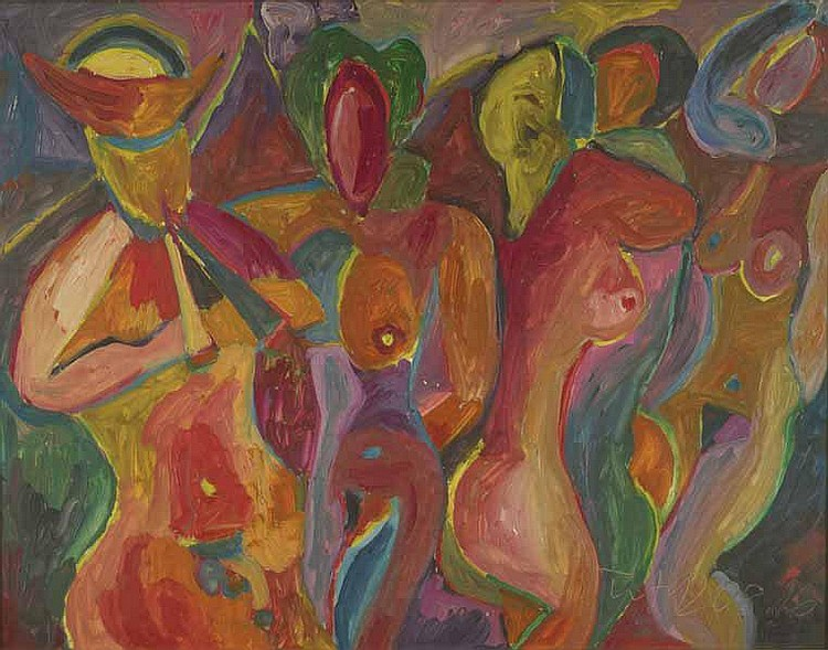 Miklos, Nemeth: (1934 Budapest/Ungarn). Tanzende