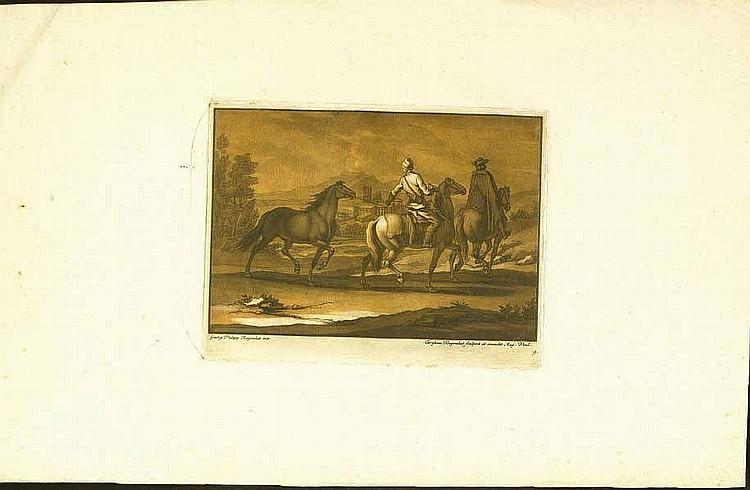 Rugendas, Christian (1708 Augsburg 1781). 6 Bl.
