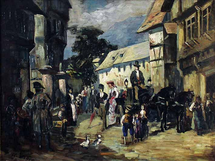 Thorn, Waldemar (1876 Stuttgart 1940).