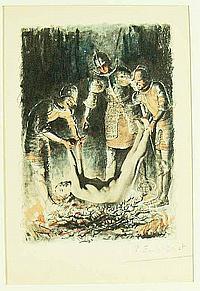 Bécat, Paul Émile (1885 Paris 1960). 4 Bl. kolor.