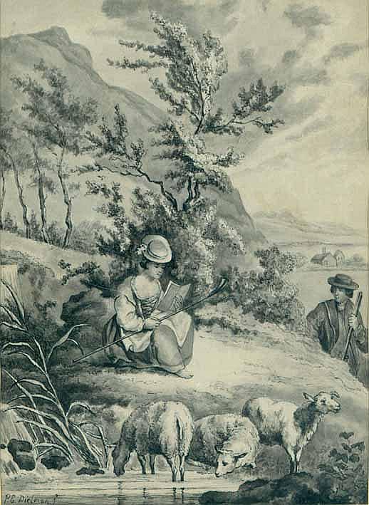 Dielman, Pierre-Emmanuel d.Ä. (1800 Gent -
