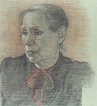 Stachelscheid, Karl (1917 Duisburg - Düsseldorf 1970). Charakterkopf e