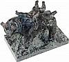 Kerényi,  Jenö (1908 Budapest 1975). Europa auf dem Stier. Bronze mit g, Jenő Kerényi, €0