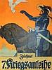 Karpellus,  Adolf (1869 1919). Zeichnet 7. Kriegsanleihe. Farb. Plakat, Adolf Karpellus, €0
