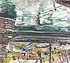 Eck,  Walter (1895 Würzburg   München 1973). Kleines Segelboot im Hafen, Walter Eck, €0