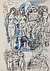 Homeyer,  Lothar (1883 Berlin 1969). 3 Bl. Zeichnungen mit figürlichen, Lothar Homeyer, €0