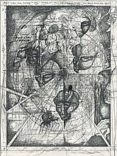 Hilsing, Werner (1938 Hannover, lebt in Abbensen). Illustration zu Vat