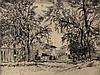 Halm,  Peter (1854 Mainz   München 1923). Bernardo Kanal   Aus Partenki, Peter