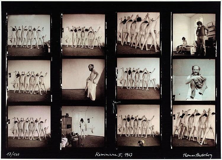 Hesterberg,  Thomas (1941). Kommune I. Photographie 1967. 41, 9 x 59, 4 c