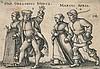 Beham,  Hans Sebald (1500 Nürnberg   Frankfurt/M. 1550). Die Monate Mär, Hans Sebald Beham, €0