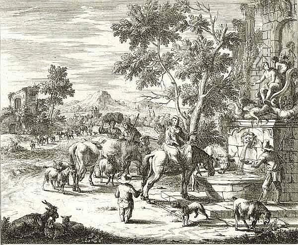Bargas, A. F. (um 1670 Brüssel, 1692 Meister der