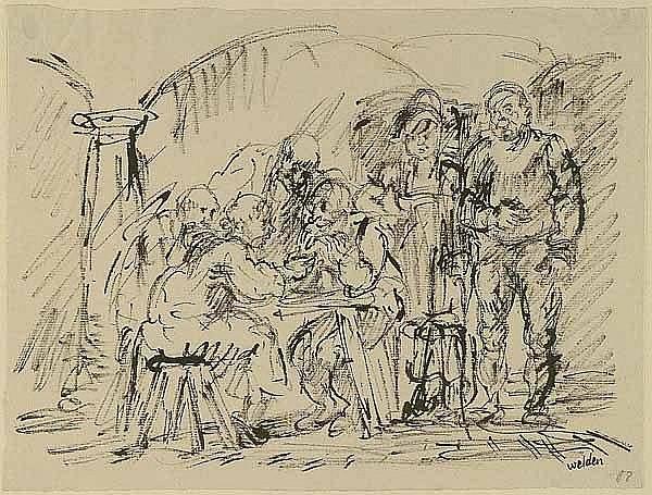 Welden, Leo von (1899 Paris - Bad Feilnbach 1967).