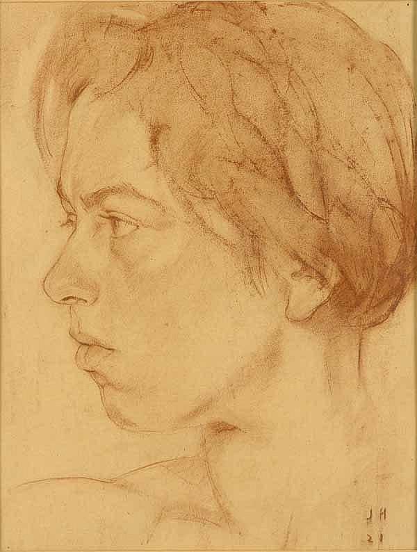 Herburger, Julius (1900 Ravensburg 1973). Porträt