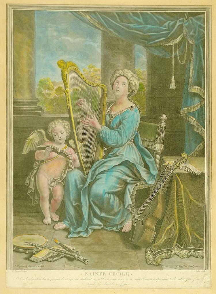 Duflos, Claude (Frankreich 1665-1737). Sainte