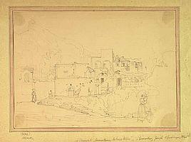 Unbekannter Zeichner (19. Jh.). Südliche
