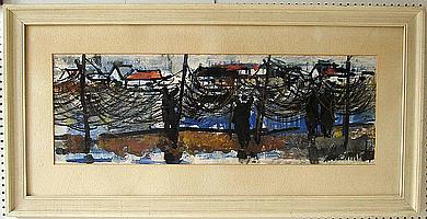 Dermit, Edouard (1925 Gallignano - Paris 1995).