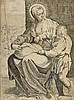 Carracci, Agostino   (1557 Bologna - Parma 1602) zugeschrieben. Die Mado, Agostino Carracci, €0