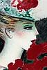 Cassigneul, Jean-Pierre   (1935 Paris). Profil aux roses No. 2. Farblith, Jean-Pierre Cassigneul, €0