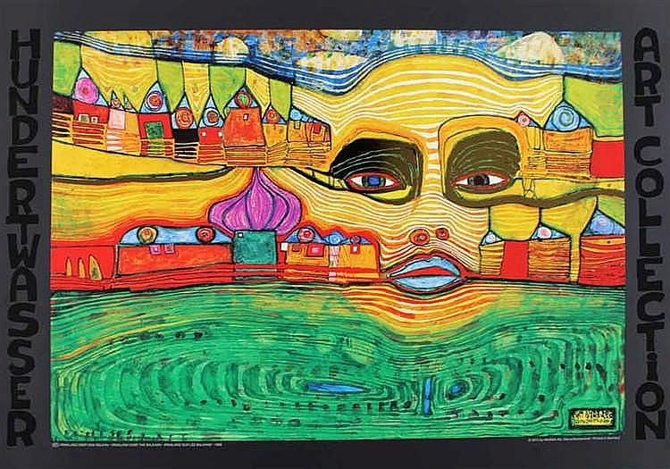 Hundertwasser, Friedensreich (1928 Wien - Kreuzfahrtschiff Queen Eliza