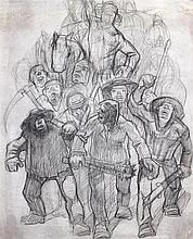 Stachelscheid, Karl (1917 Duisburg - Düsseldorf 1970). Szenen aus dem