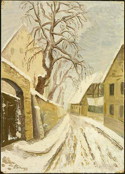 Albitz, Richard: (1876 Berlin 1954). Bewaldete
