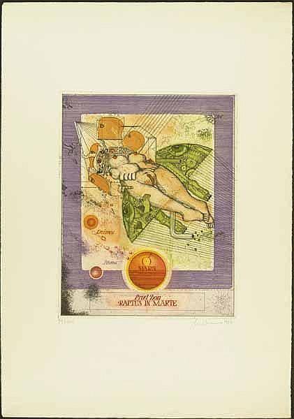Bremer, Uwe: (1940 Bischleben). 3 (1 farb., 2
