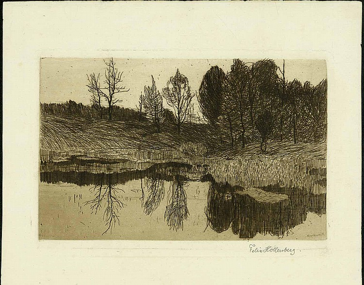 Hollenberg, Felix: (1868 Sterkrade/Ruhr -