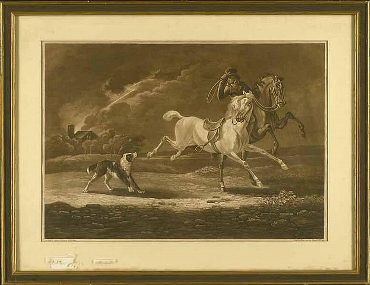 Hegi, Franz: (1774 Lausanne - Zürich 1850). Reiter