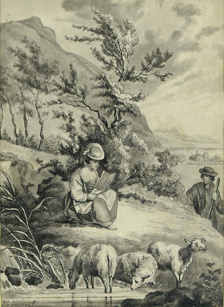 Dielman, Pierre-Emmanuel d.Ä.: (1800 Gent -