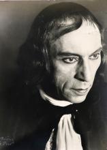 Le Prat, Therese - (1895-1966). Portrait von Louis Jouvet als Tartuffe.