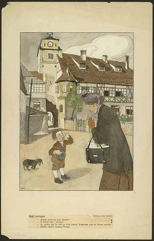 Ade, Mathilde (1877 Sarbogard/Ungarn - München