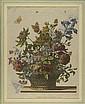 Blumenbukett. Kolor. Kupferstich v. Pieter Schenck, Pieter Schenck, Click for value