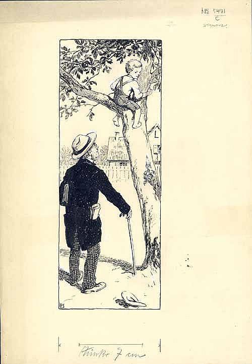 Kainradl, Leo (1872 - München 1943). Erwischt beim