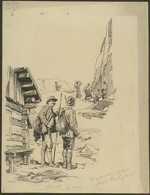 Kainradl, Leo (1872 - München 1943). Im Gebirge.