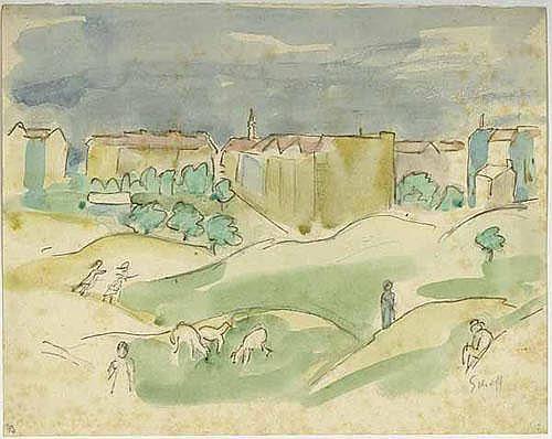 Schoff, Otto: (1884 Bremen - Berlin 1938).