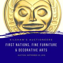 First Nations, Fine Furnishings & Decorative Arts