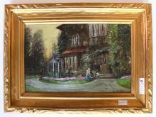 Herbert F. Royle Painting