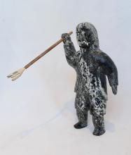 Inuit Stone Sculpture, Untitled Hunter