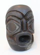 Unidentified, Untitled, Bukwus Mask-style Carving, Carved And Stained Cedar