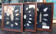 Collection Of Arrow Heads And Spear Points
