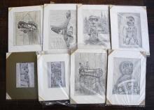 Mary Cameron Pencil Drawings