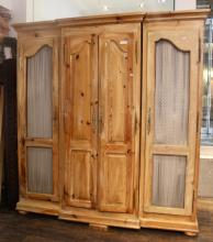 Provencal Style Pine Armoire