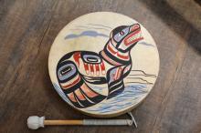 "Patrick Amos, ""Kwagulth Sea Lion"" Drum, Cites Notice"