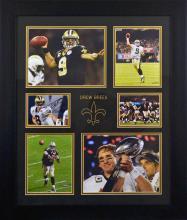 Drew Brees Signed Sports Memorabilia (FRAMED)