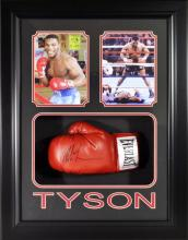 Mike Tyson Glove Memorabilia (Framed)