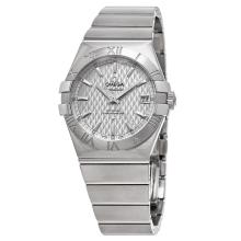Omega Constellation Silver Dial Stainless Steel Swiss Automatic Mens Watch