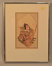 19TH CENT. IPPITSUSAI BUNCHO JAPANESE WOODCUT - CIRCA 1870