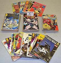 (115) MISC. MODERN 3-D COMIC BOOKS